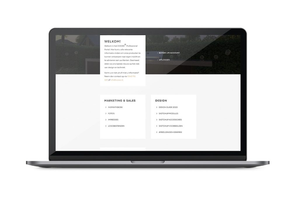 Het COOXS Professional Portal is live!